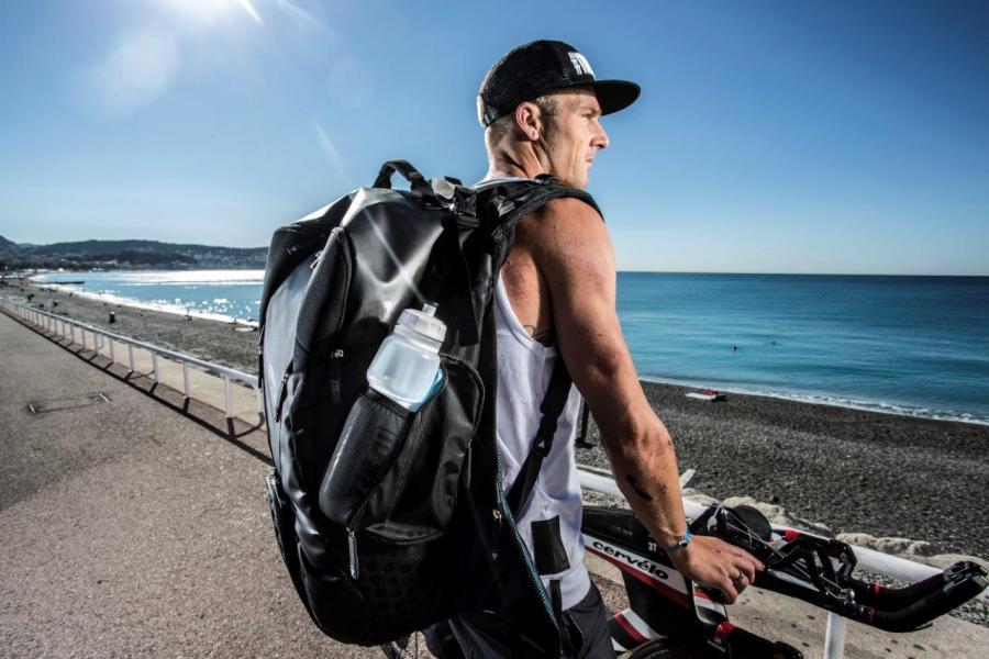 N'oubliez plus d'affaires sur vos triathlons avec le sac de transition Z3R0D !