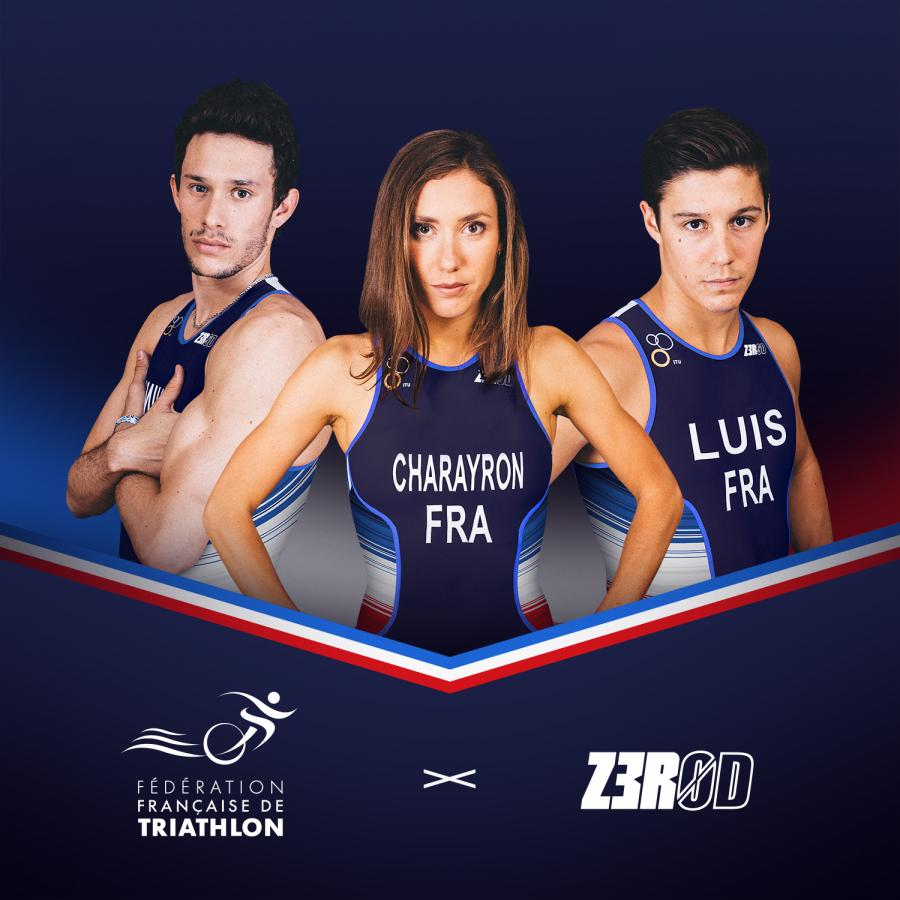 Z3R0D becomes the official kit supplier of the French Triathlon Federation!