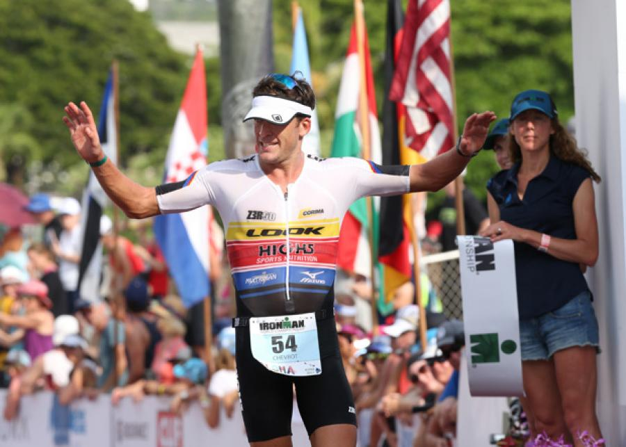Denis Chevrot, Z3R0D athlete in Kona