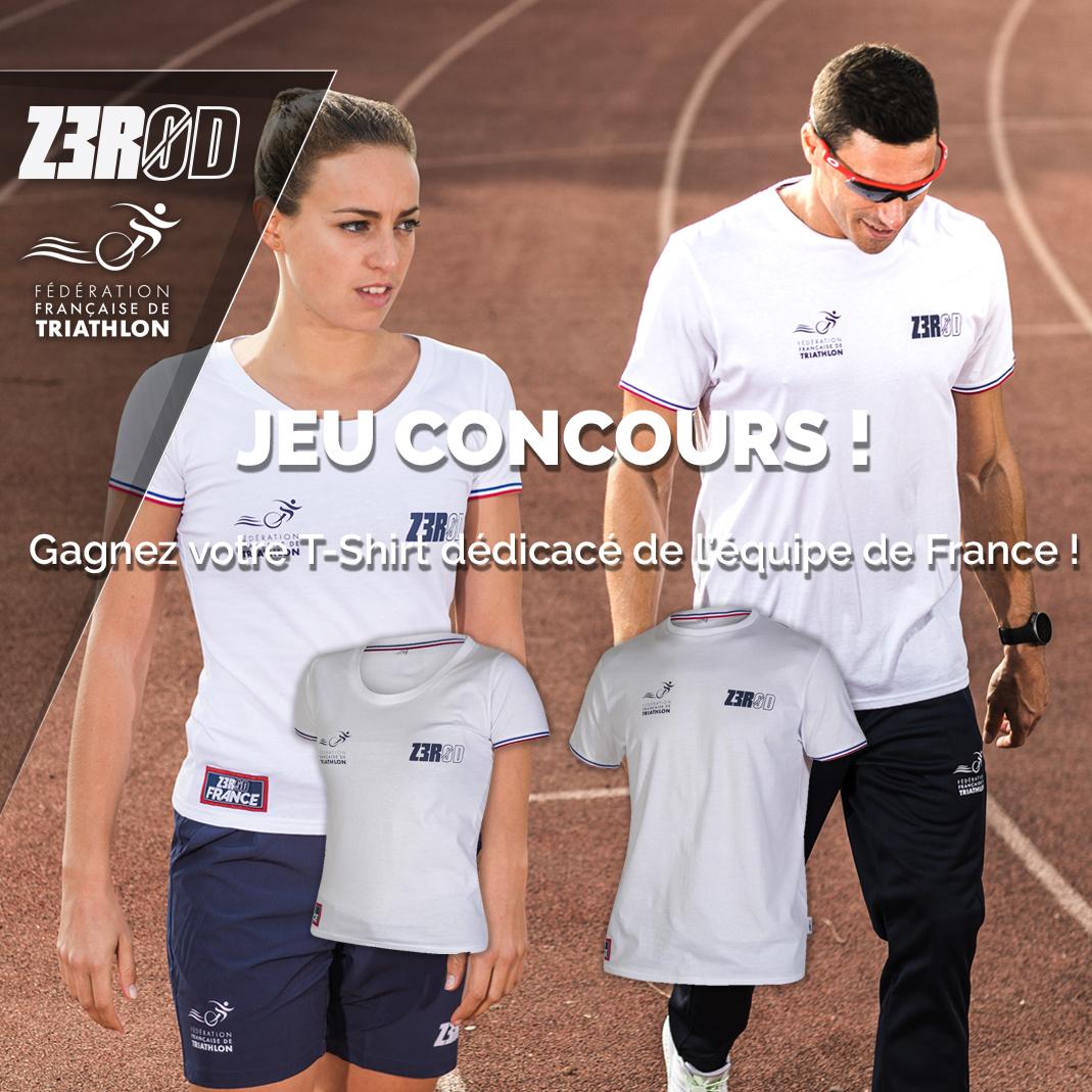 Jeu concours - gagnez votre t-shirt France dédicacé !