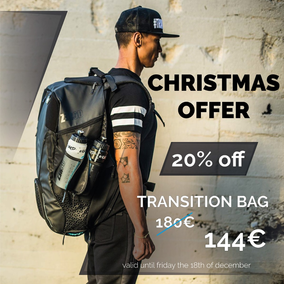 🎁 Christmas Offer: save 20% on our Transition Bag!
