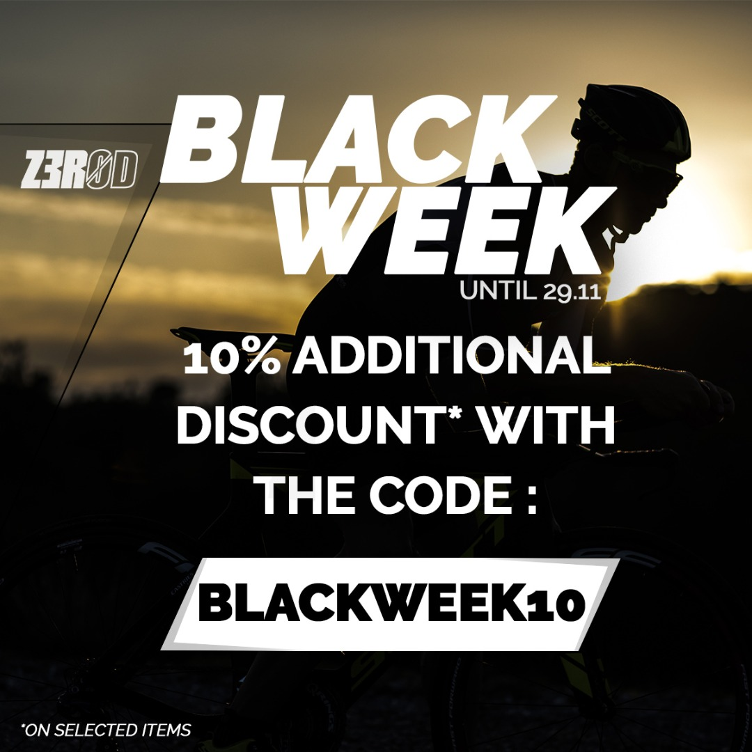 BLACK WEEK! 10% additional discount!