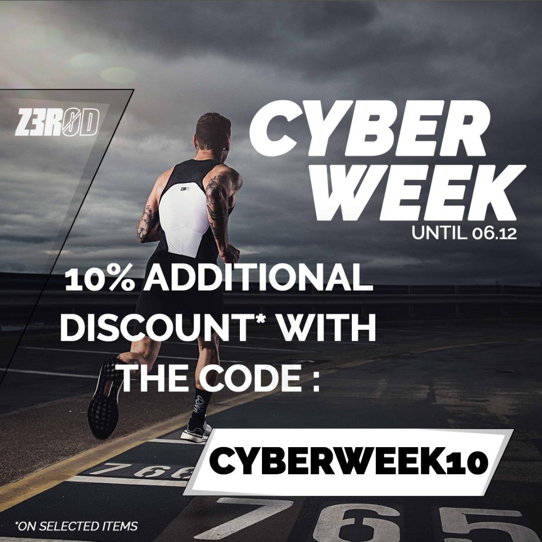 Cyber Week: Extra Savings!