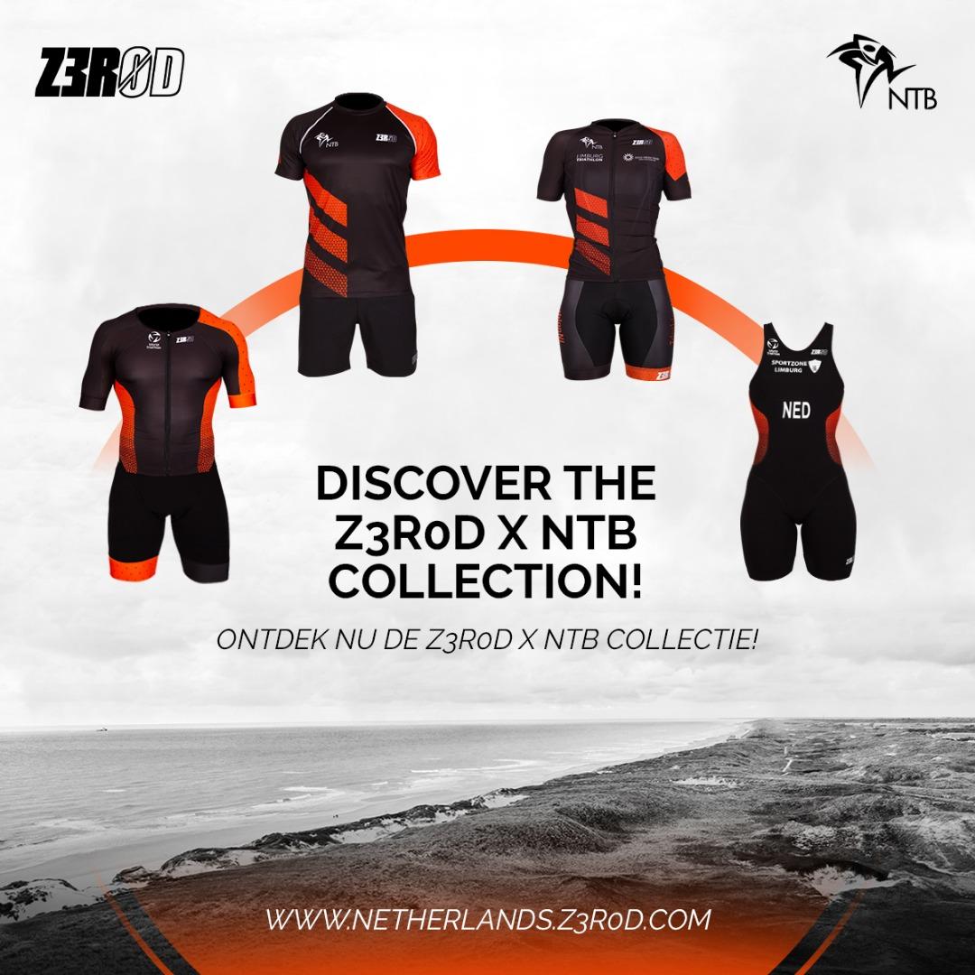 🆕 Z3R0D X Nederlandse Triathlon Bond Collection 🇳🇱