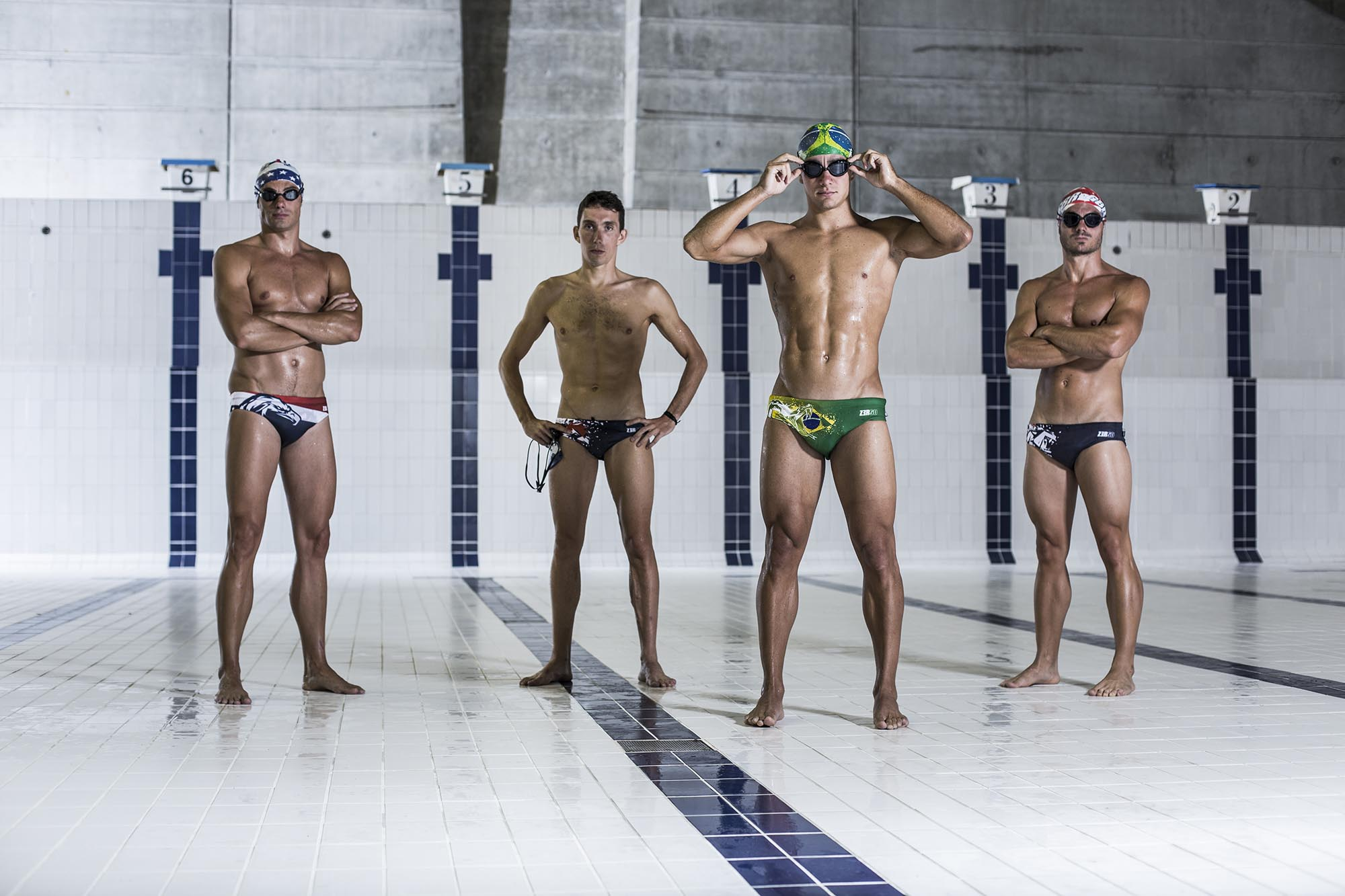 Natation  - Homme - NATIONAL PRIDE COLLECTION