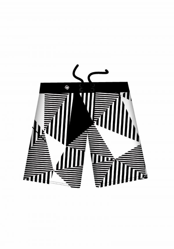 BOARDSHORTS TRIANGLES&STRIPES