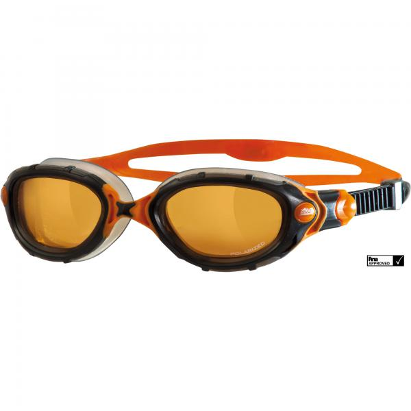 ZOGGS PREDATOR FLEX POLARIZED ULTRA BLACK/ORANGE