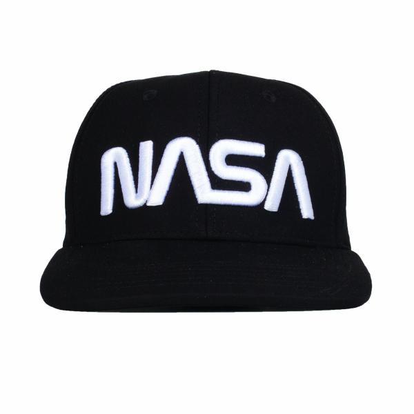 Z3R0D - casquette snapback NASA Explorer noire
