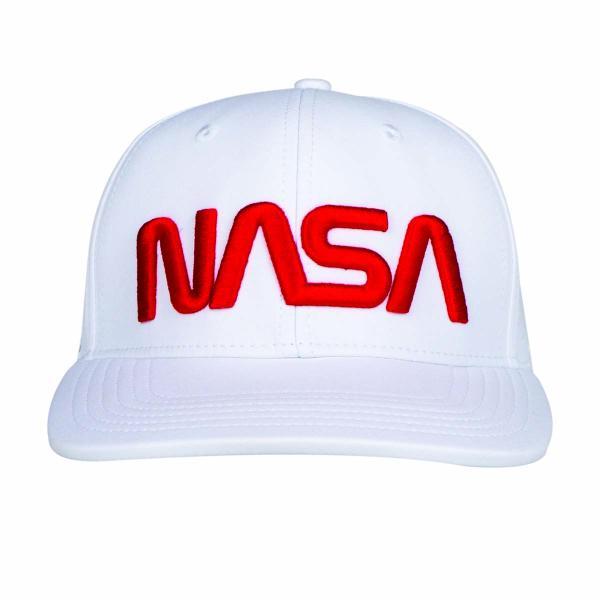 Z3R0D - casquette snapback NASA Explorer blanche