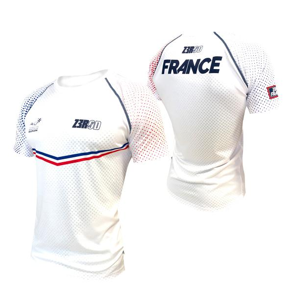 T-SHIRT RUNNING HOMME FRANCE