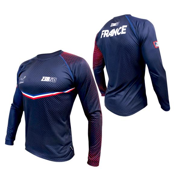 T-SHIRT RUNNING MANCHES LONGUES FRANCE