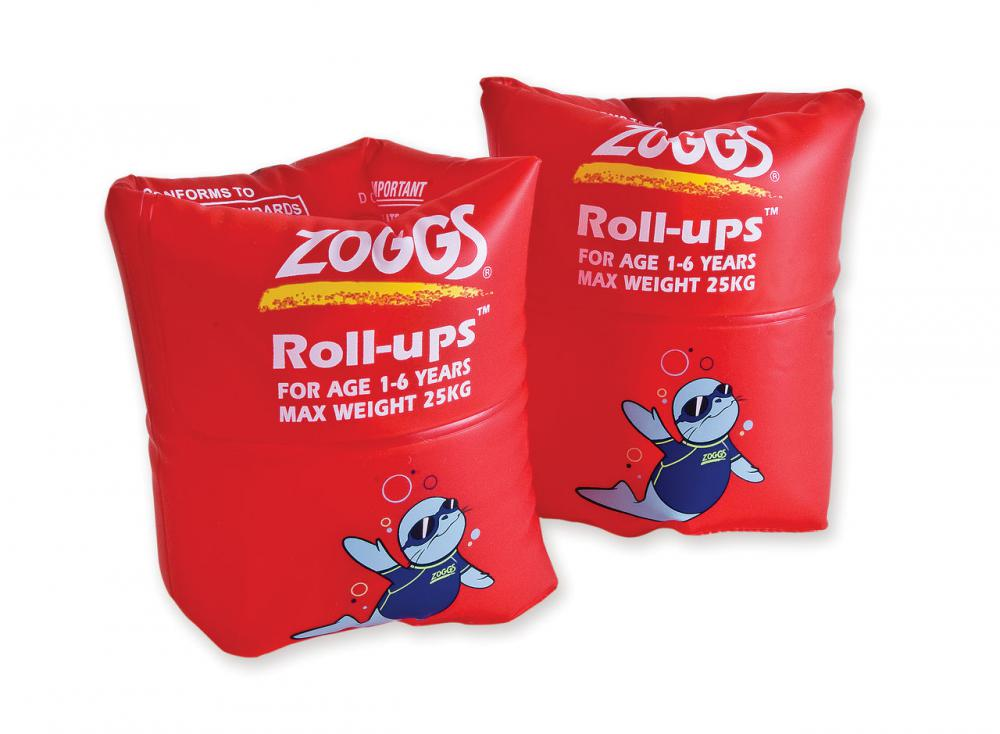 ZOGGS BRASSARDS ROUGES 1-6 ANS