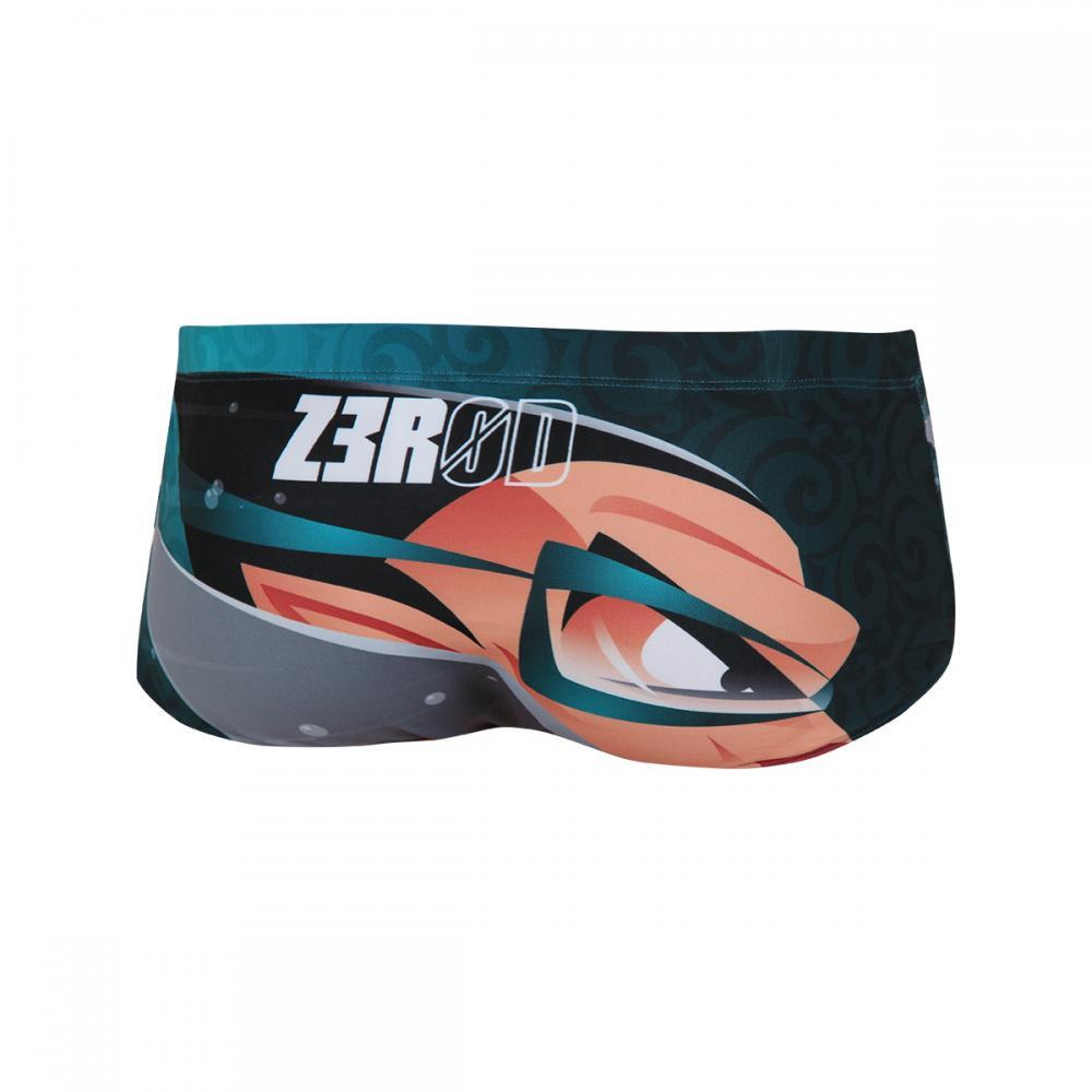 maillot de bain homme trunks ravenman shark vert zerod. Black Bedroom Furniture Sets. Home Design Ideas